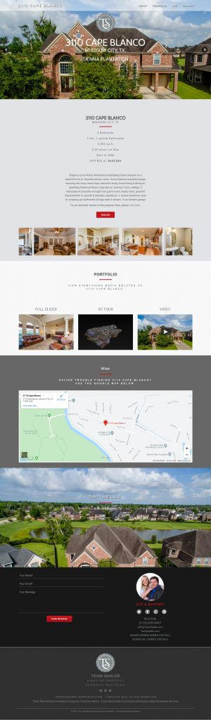 Single Property Website I