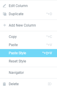 Paste Style